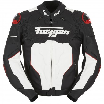 Cazadora moto Furygan Raptor Black White Red