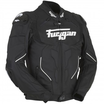 Cazadora moto Furygan Raptor Black White