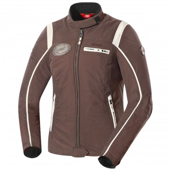 Cazadora moto IXS Ridley Lady Brown