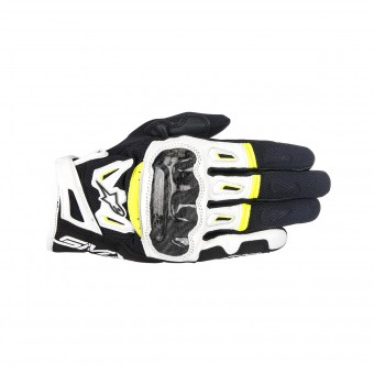 Guantes moto Alpinestars SMX-2 Air Carbon V2 Yellow Fluo
