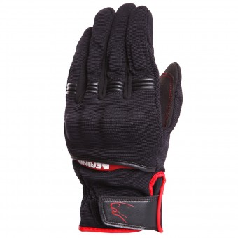 Guantes moto Bering Fletcher Black Red