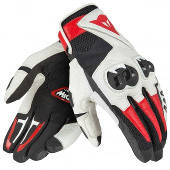 Guantes moto Dainese Mig C2 Black White Red