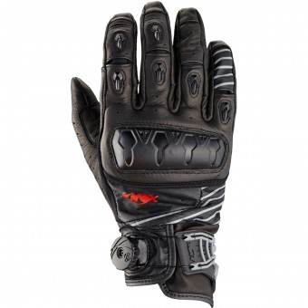 Guantes moto Knox Orsa Leather Black