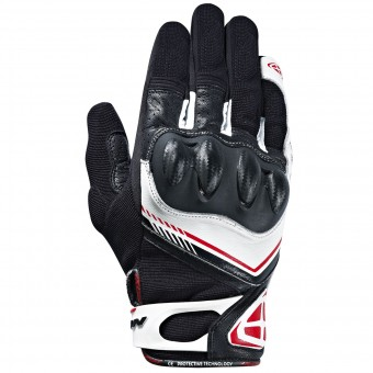Guantes moto Ixon RS Drift Black White Red