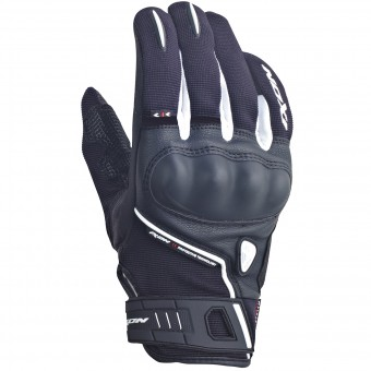 Guantes moto Ixon RS Grip Lady HP Negro Blanco
