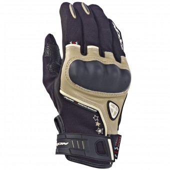 Guantes moto Ixon RS Grip Lady HP Negro Arena
