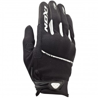 Guantes moto Ixon RS Lift HP Kid Negro Blanco