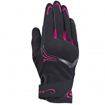 Guantes moto Ixon RS Lift Lady 2.0 Black White Fuschia