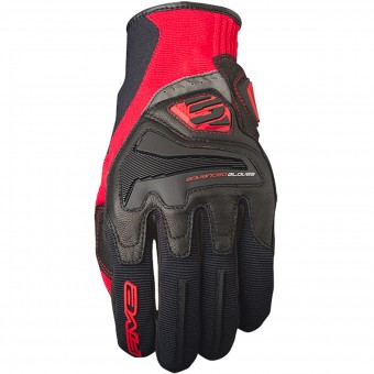 Guantes moto Five RS4 Black Red