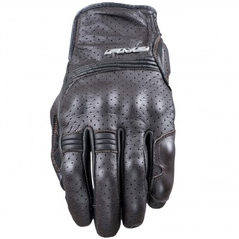 Guantes moto Five Sport City Brown