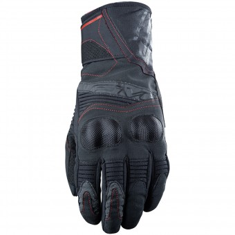 Guantes moto Five WFX2 WP Black Red