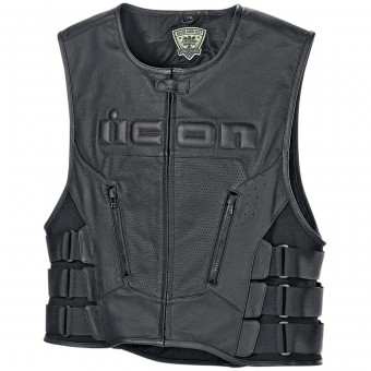 Chaleco moto ICON Regulator D3O Vest Black