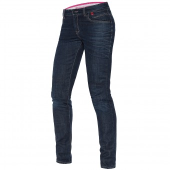 Pantalones moto Dainese Belleville Slim Lady 3D Washed