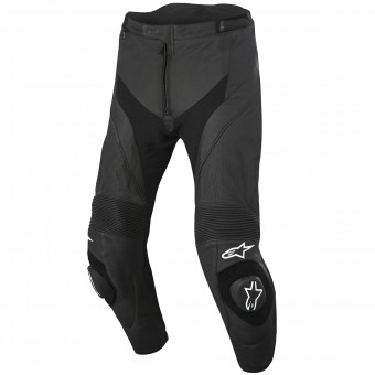 Pantalones moto Alpinestars Missile Airflow Leather Black