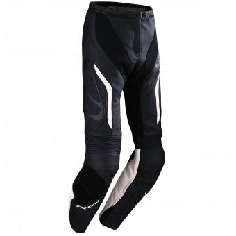 Pantalones moto Ixon Prima Pant VX Black White