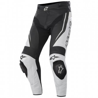 Pantalones moto Alpinestars Track Pant Negro Blanco