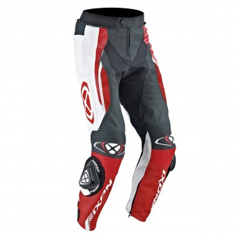 Pantalones moto Ixon Vortex Pant Black White Red