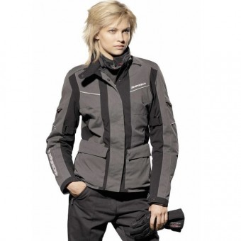 Chaquetas moto Spidi Venture H2out Lady Negro/Antracite