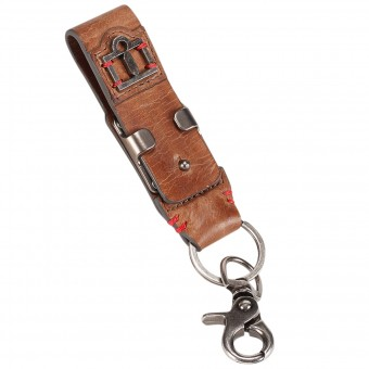 Regalos ICON 1000 Leather Belt Loop Keychain