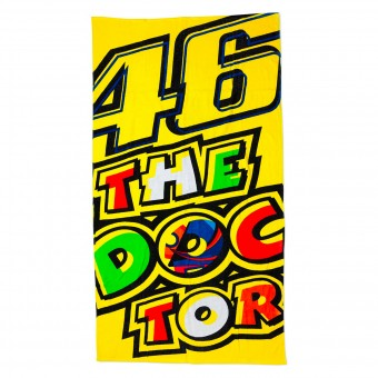Regalos VR 46 Beach Towel 03 Yellow