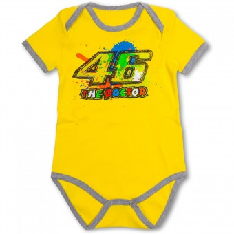 Regalos VR 46 Baby Body Yellow VR46