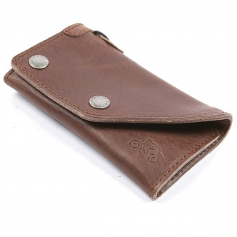 Regalos Helstons Cartera Leather Brown