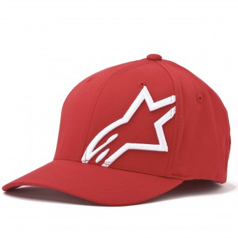Gorras Moto Alpinestars Corp Shift 2 Flexfit Red