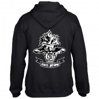 Jerseys Moto 100% Bitume Hoodie Asphalt Black