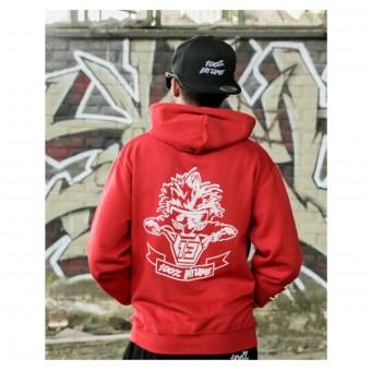 Jerseys Moto 100% Bitume Hoodie Asphalt Red
