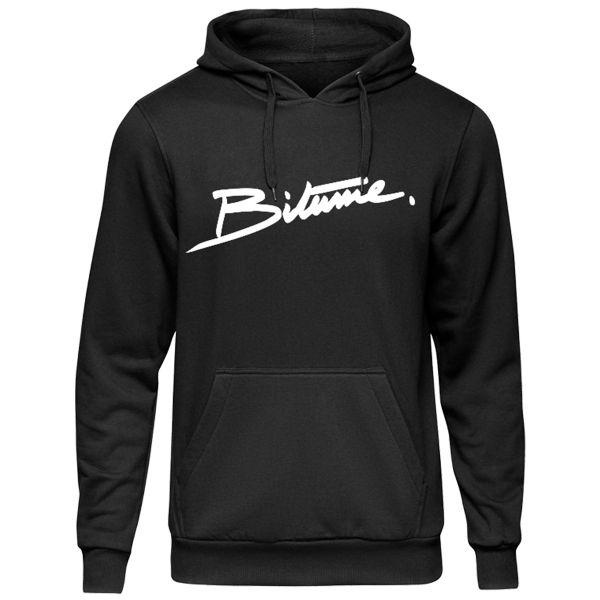 Jerseys Moto 100% Bitume Hoodie Signature Big Black