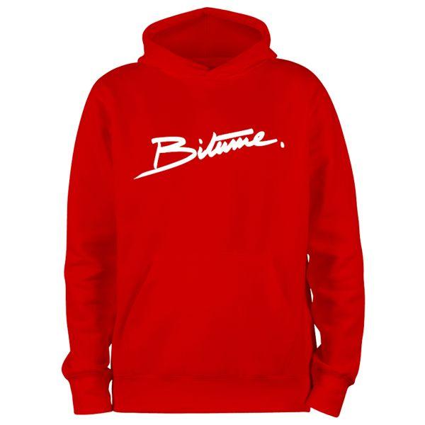 Jerseys Moto 100% Bitume Hoodie Signature Big Red