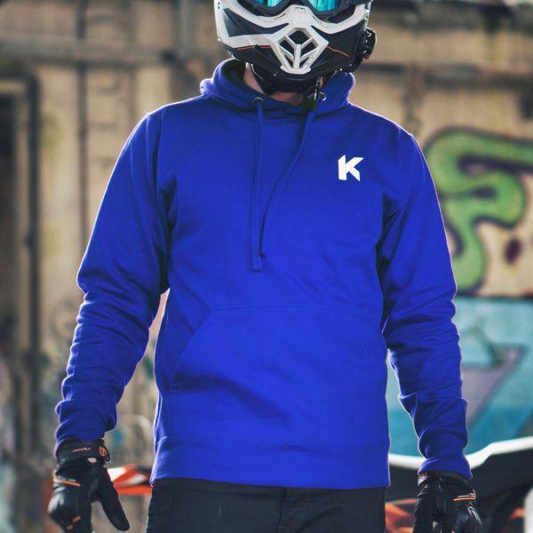 Kikaninac Sweat Hoodie Supermot Azul