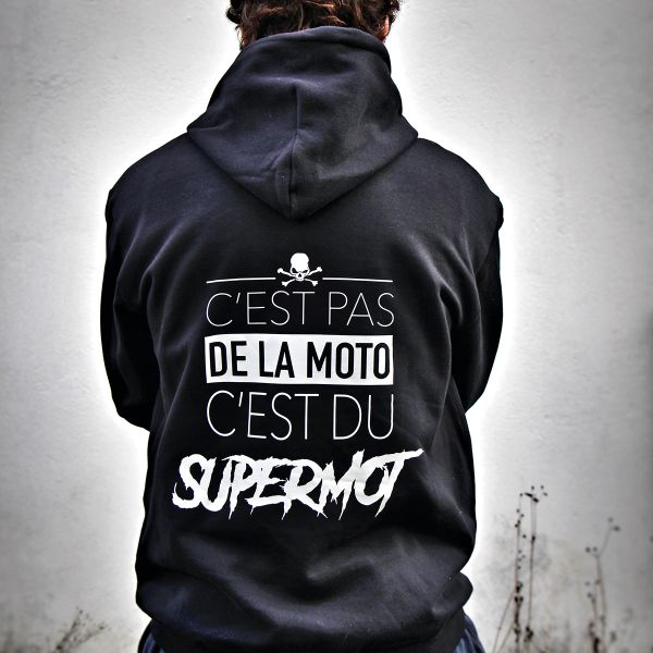 Jerseys Moto Kikaninac Sweat Hoodie Supermot