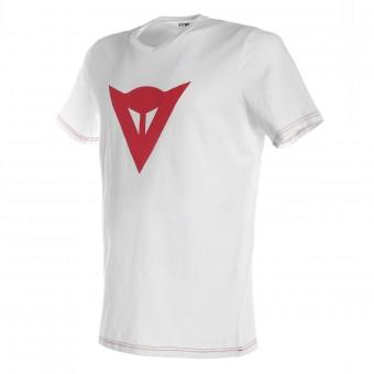 Camisetas Moto Dainese Speed Demon White Red