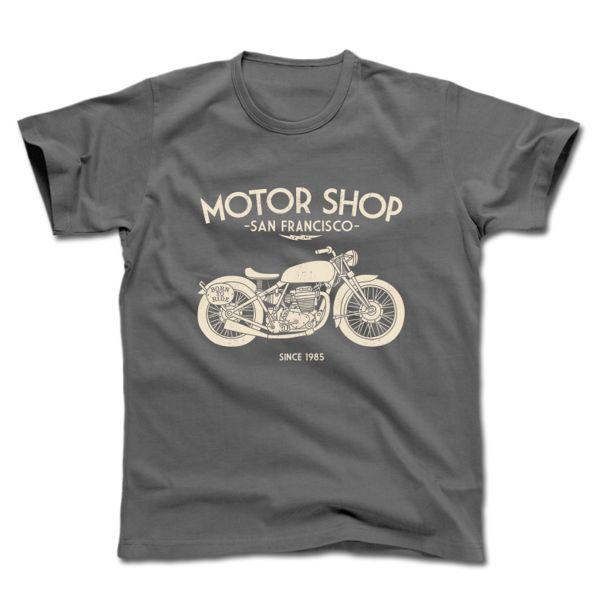 Camisetas Moto HARISSON Motor Shop