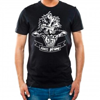 Camisetas Moto 100% Bitume Niglo Black
