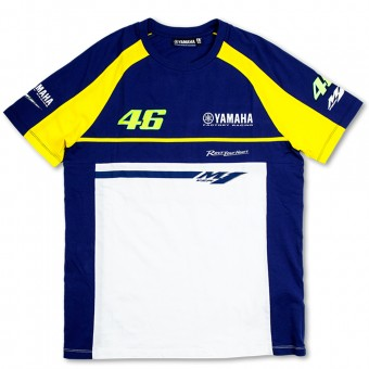 Camisetas Moto VR 46 T-Shirt Blue Royal Yamaha VR46