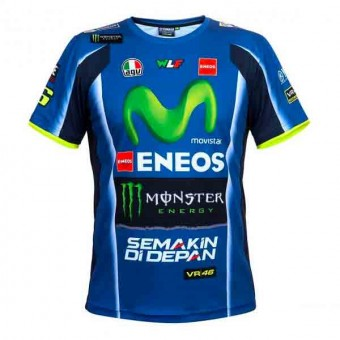 Camisetas Moto VR 46 T-Shirt Replica Racing Yamaha VR46