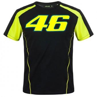 Camisetas Moto VR 46 T-Shirt VR46 Race Negra
