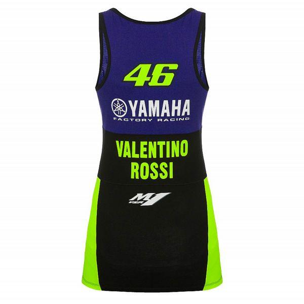 Mujer Valentino Rossi Yamaha Dual-Racing Camiseta